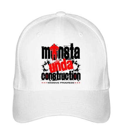 Бейсболка Monsta unda construction
