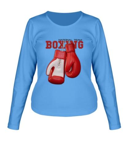 Женский лонгслив Boxing National Team