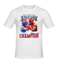 Мужская футболка Knockout Champion