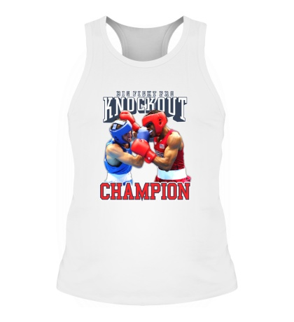Мужская борцовка Knockout Champion