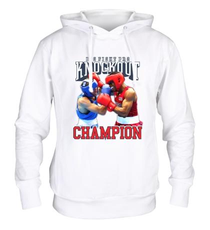 Толстовка с капюшоном Knockout Champion