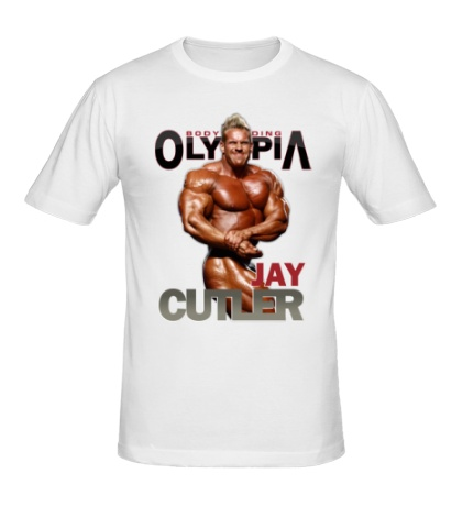 Мужская футболка Jay Cutler Olympia