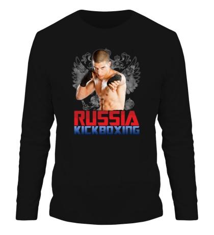 Мужской лонгслив Russia Kickboxing
