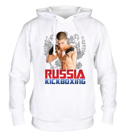 Толстовка с капюшоном Russia Kickboxing