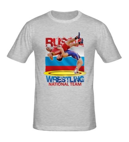 Мужская футболка Russian Wrestling