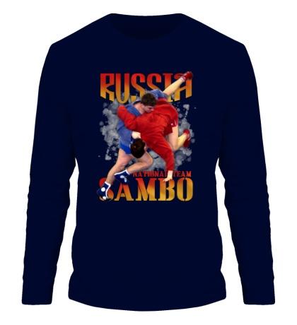 Мужской лонгслив Russia Sambo