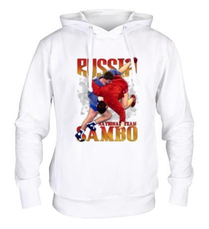 Толстовка с капюшоном Russia Sambo