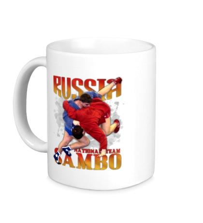 Керамическая кружка Russia Sambo