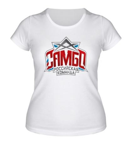 Женская футболка Самбо: Российская команда