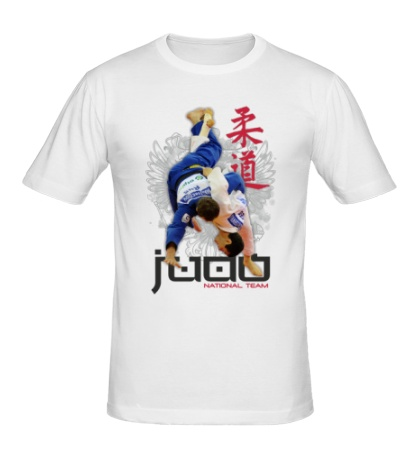 Мужская футболка Judo National Team