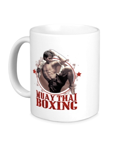 Керамическая кружка Muay Thai Boxing