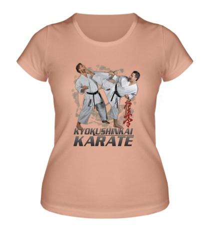 Женская футболка Kyokushinkai Karate