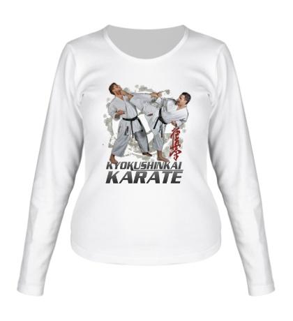 Женский лонгслив Kyokushinkai Karate