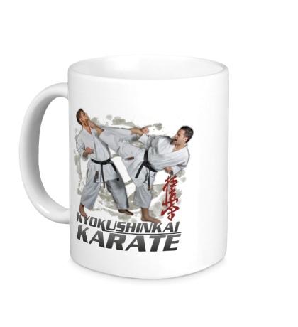 Керамическая кружка Kyokushinkai Karate