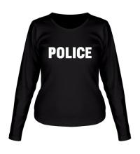 Женский лонгслив Police