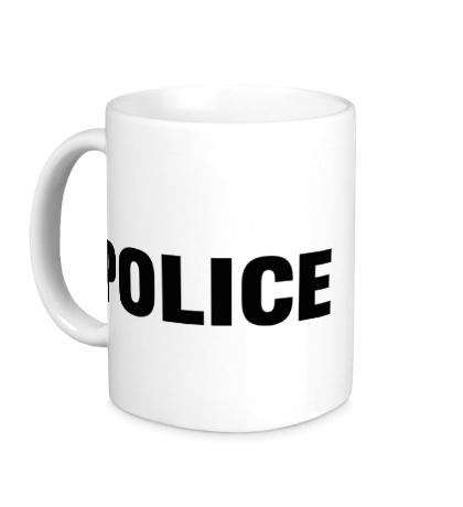 Керамическая кружка Police