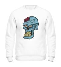Свитшот Зомби с мозгом