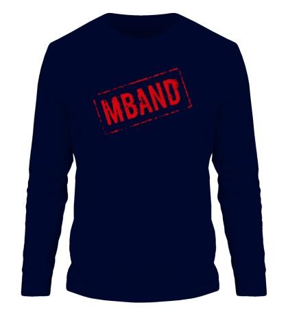 Мужской лонгслив Mband logo