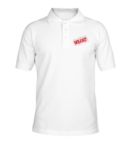 Рубашка поло Mband logo