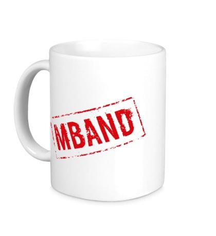 Керамическая кружка Mband logo