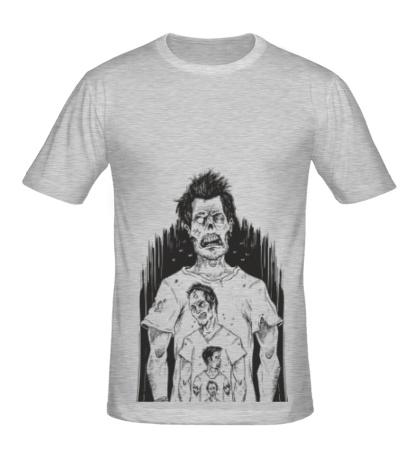 Мужская футболка Бесконечность зомби