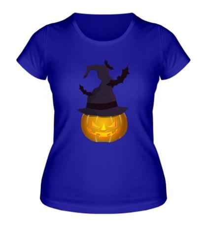 Женская футболка Тыква в колпаке