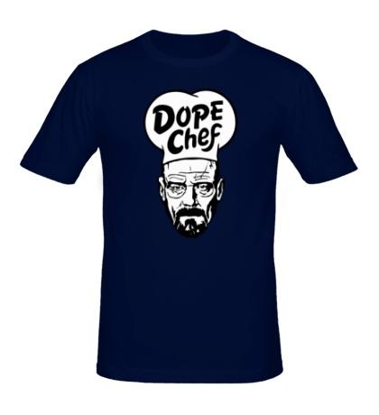 Мужская футболка Heisenberg Dope Chef