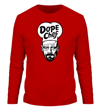 Мужской лонгслив Heisenberg Dope Chef