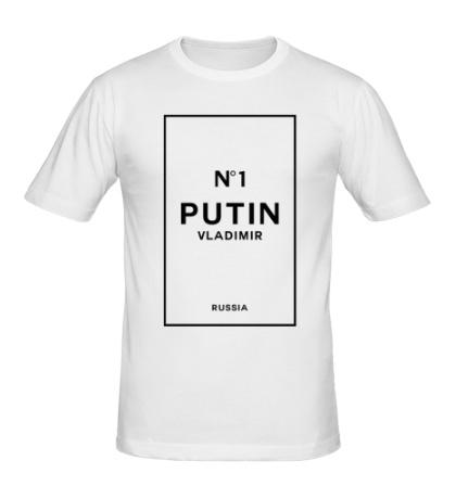 Мужская футболка Vladimir Putin N1