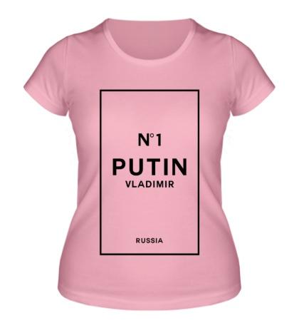 Женская футболка Vladimir Putin N1