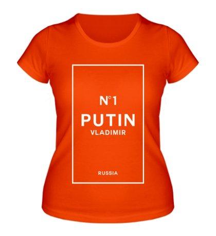 Женская футболка «Vladimir Putin N1»