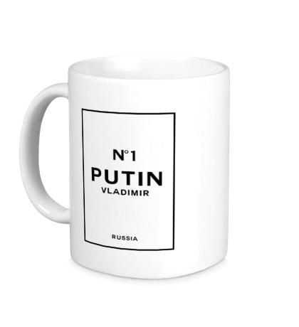 Керамическая кружка Vladimir Putin N1