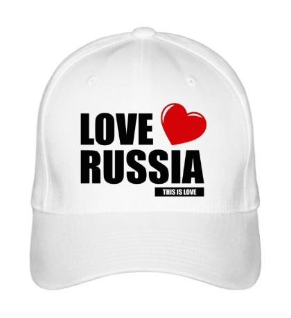 Бейсболка Russia Love