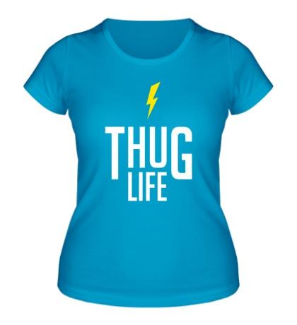 Женская футболка Thug Life