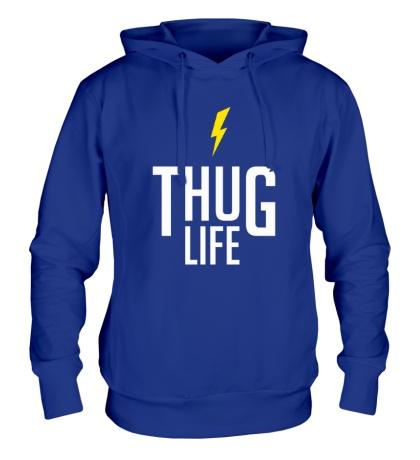 Толстовка с капюшоном Thug Life