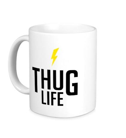 Керамическая кружка Thug Life
