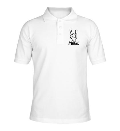 Рубашка поло Metal Forever