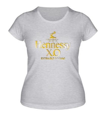Женская футболка Henessy XO