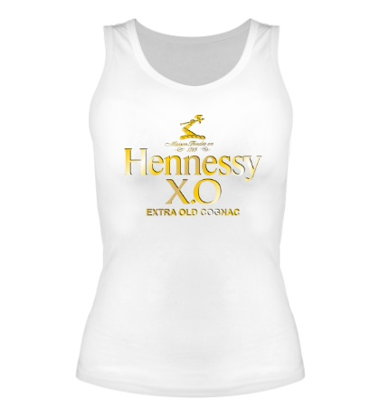 Женская майка Henessy XO