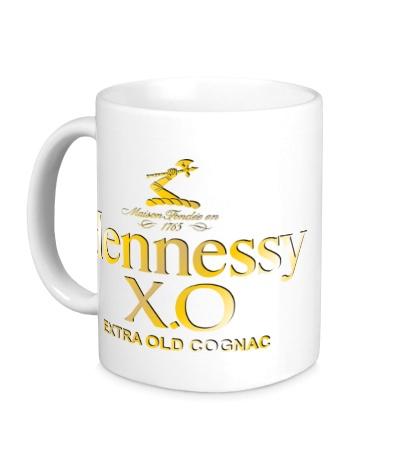 Керамическая кружка Henessy XO