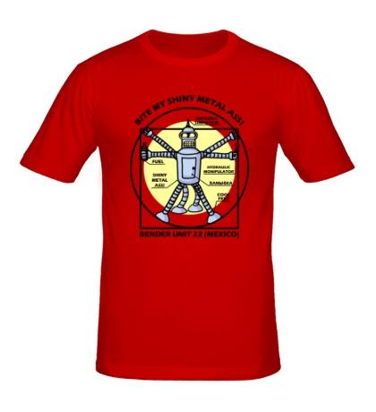 Мужская футболка Bender Unit 22