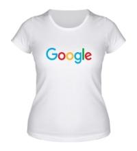 Женская футболка Google 2015