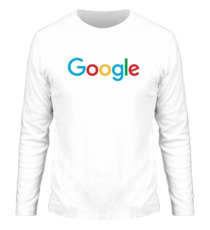 Мужской лонгслив Google 2015
