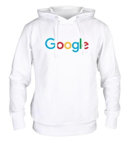 Толстовка с капюшоном Google 2015