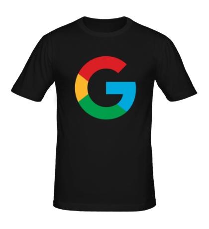 Мужская футболка Google 2015 big logo