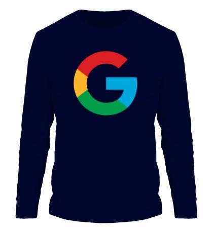 Мужской лонгслив Google 2015 big logo
