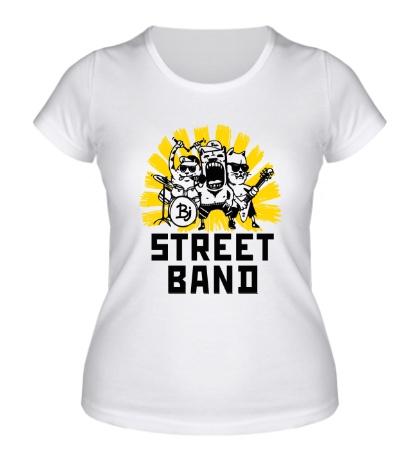 Женская футболка Street Band