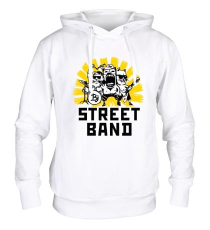 Толстовка с капюшоном Street Band