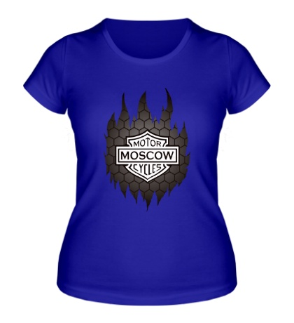 Женская футболка Motorcycles Moscow