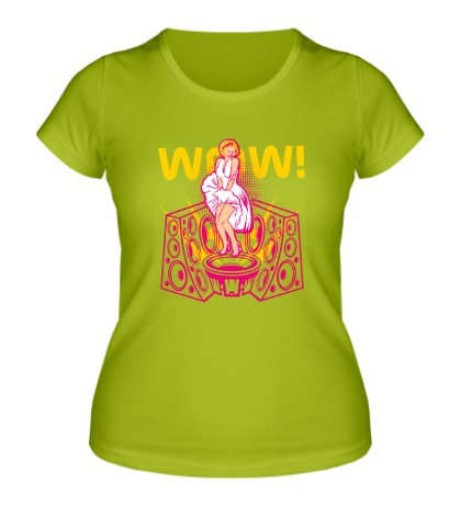 Женская футболка Wow Dance